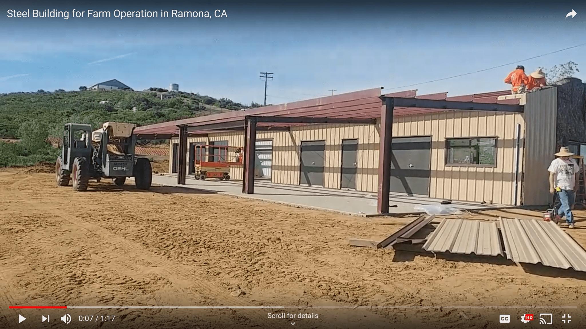 Steel-Building-for-Farm-in-Ramona-CA