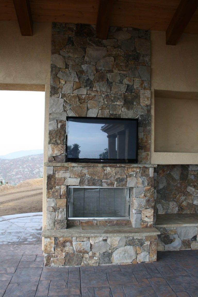 Spanish Ranch Custom Home in Ramona CA by Freemans Construction Inc