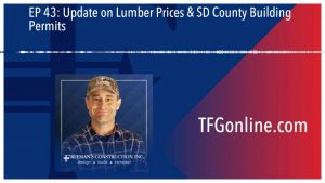 Update on Lumber Prices & SD for San Diego County