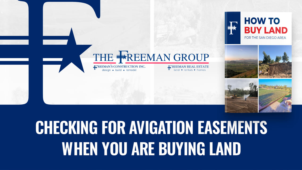 Checking for Avigation Easements When You Are Buying Land